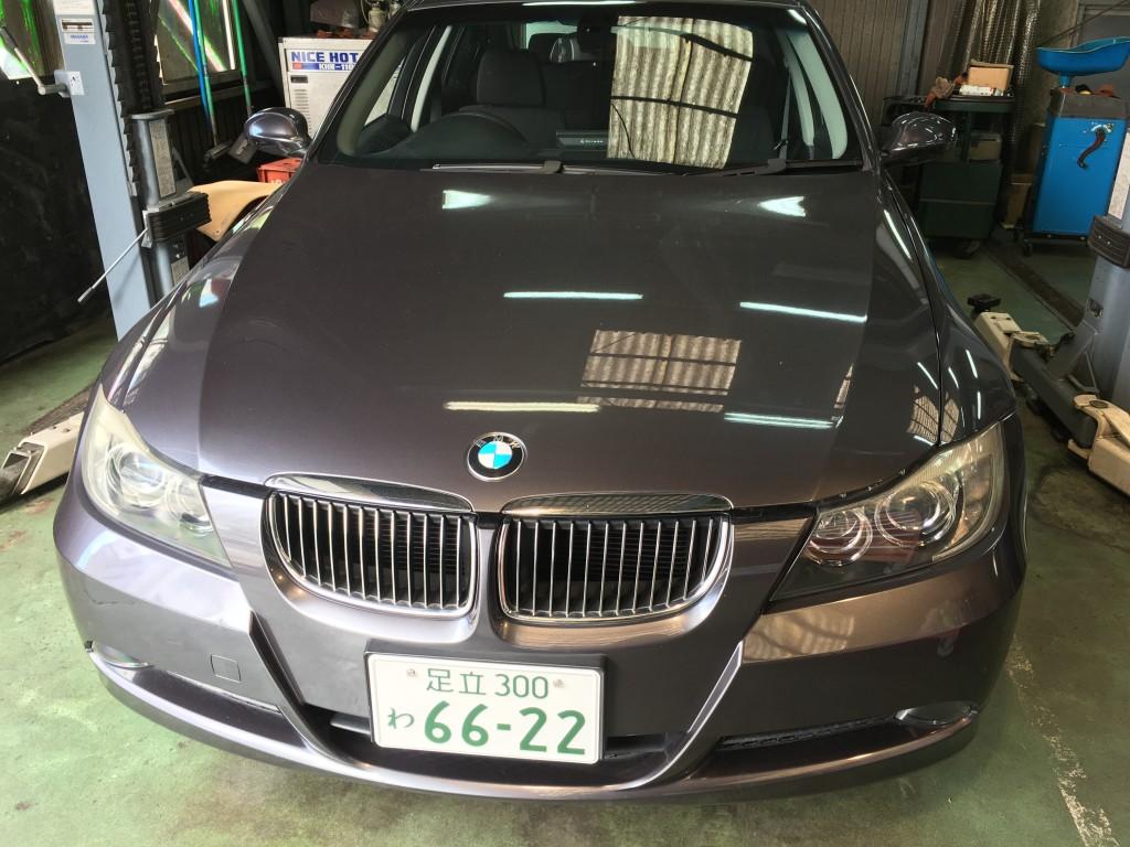 BMW  E90 IGコイル交換 プラグ交換  ♪ブログやります♪