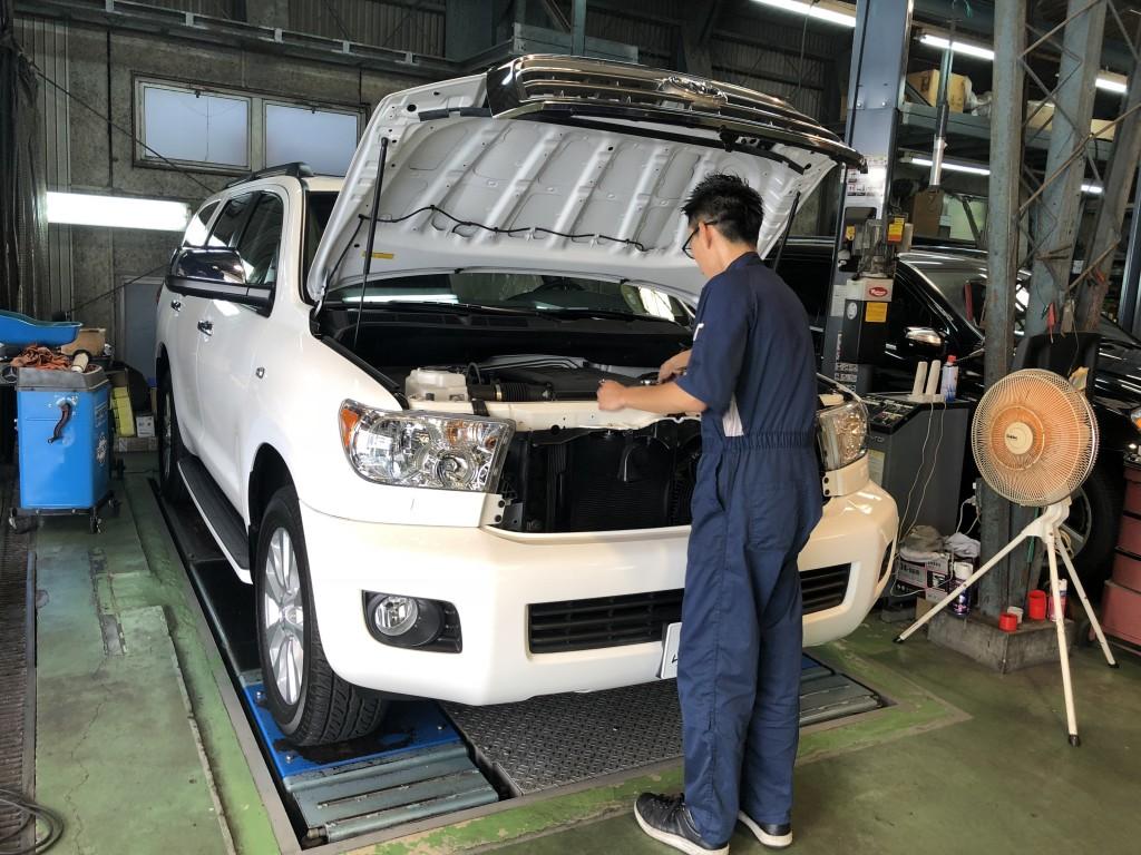 トヨタ セコイア 1年点検と G350プロフェッショナル 納車準備中♪